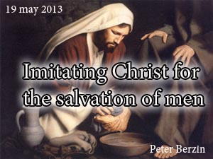 Imitating Christ for the salvation of men