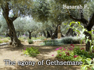 The agony of Gethsemane